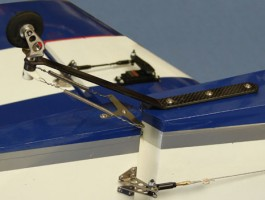 ACTW1540 - Bequilha traseira em carbono - 15 a 40 lbs (Tail Wheel) - Aeroworks