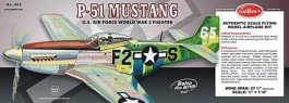 "GUILL402 - P-51 Mustang Serie 400 - 27,75"" - Guillows"