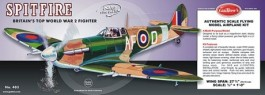 """GUILL403 - Supermarine Spitfire Serie 400 - 27,6"""" - Guillows"""
