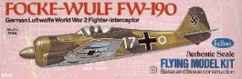 "GUILL502 - Focke-Wulf FW-190 Série 500 - 16"" - Guillows"