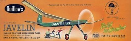 "GUILL603 - Javelin Série 600 - 24"" - Guillows"