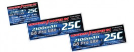TP3300-3SPP25 - 3300MAH 3S 11.1V G8 PRO LITE PLUS 25C - Thunder Power