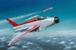 REV64301 - Model Set Lightning F Mk.6 - 1/72 - Revell