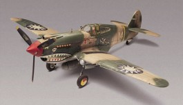 REV855209 - P-40B Tiger Shark - 1/48 - Revell
