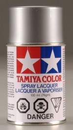 TAMR8612 - 86012 PS-12 Tinta spray Silver (prata) - Tamiya