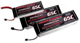 TP22503SPP65 - Bateria Thunder Power 2250mAh 3S 11.1V G6 Pro Power 65C (T-Rex 450, Etc) - Thunder Power