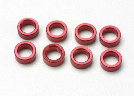 TRAX5133 - Spacer, pushrod aluminun, red (R 3.3) - Traxxas