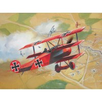 REV64116 - Model Set Fokker DR.1 Triplane - 1/72 - Revell