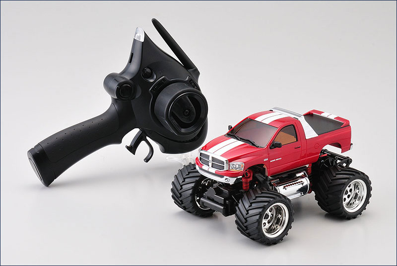 KYO30091MR-B - Mini-Z Monster MM-01 Dodge RAM 1500 Vermelha - Kyosho